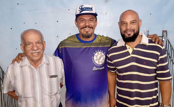 Presidente Sr Jamil, Dione Leite e Rodrigo Delduque
